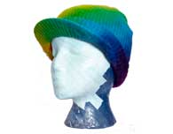 Hemp Knit Cap with Brim